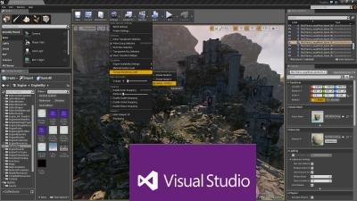 Accélérer l'auto-complétion de Visual Studio avec l'Unreal Engine 4