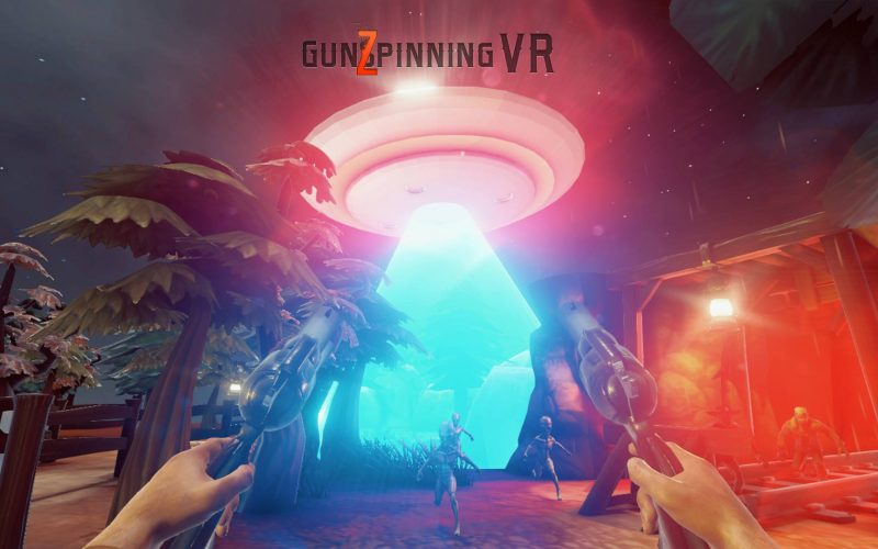 GunSpinning VR is a Wild West VR Rail Shooter built for Virtual Reality